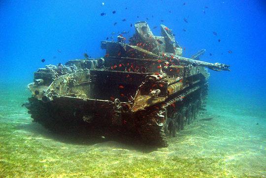 Tanque sumergido