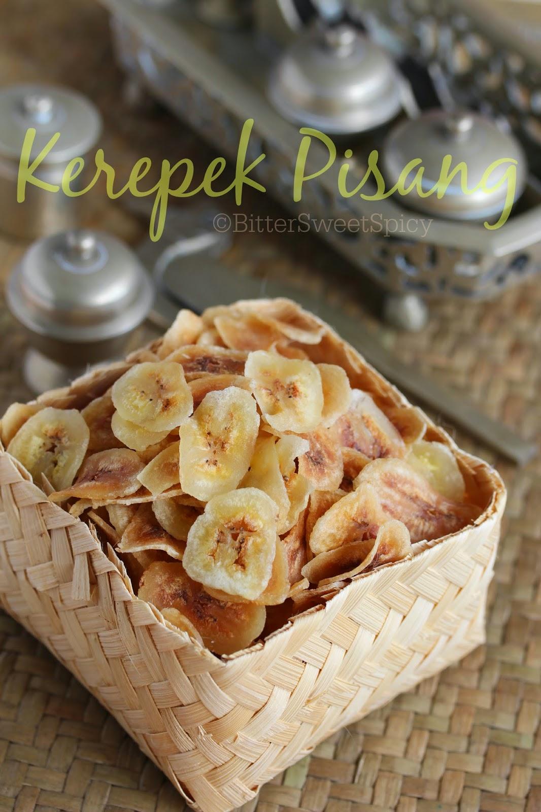 BitterSweetSpicy: Banana Chips aka Kerepek Pisang