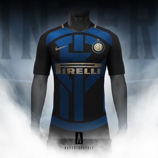 198e9bd0e Nike x EA Sports Inter Milan Digital 4th Kit Concept by ...