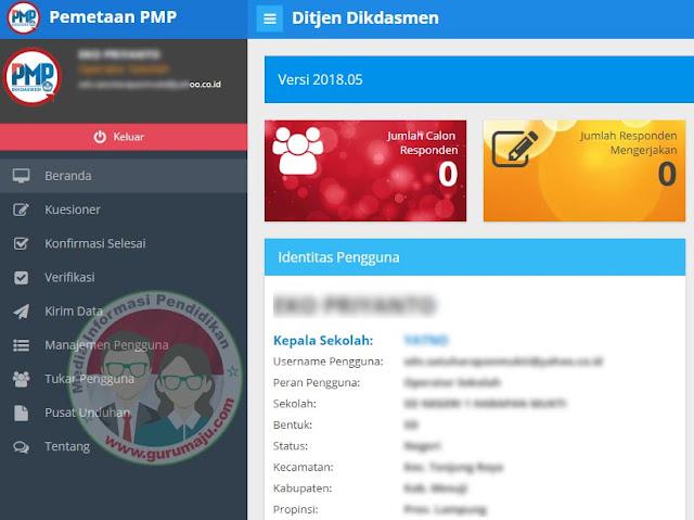 Rilis Aplikasi PMP 2018.07