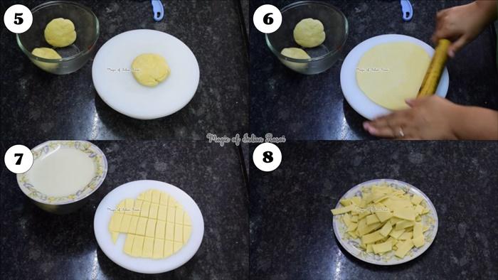 Gud ke Pare - Gud Para / Tosha Recipe - गुड़ के पारे - गुड़ के तोषे रेसिपी - Priya R - Magic of Indian Rasoi