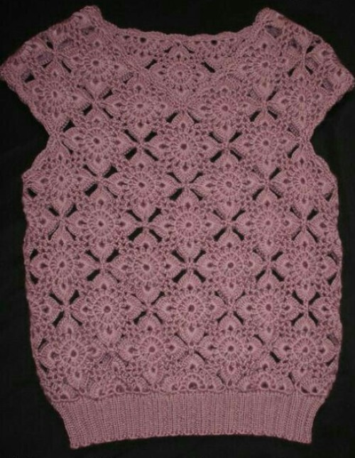 Short Sleeve Lace - Free Pattern