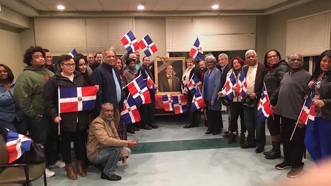 Seccional del PLD en Boston honra a Duarte en el 204 aniversario de su nacimiento