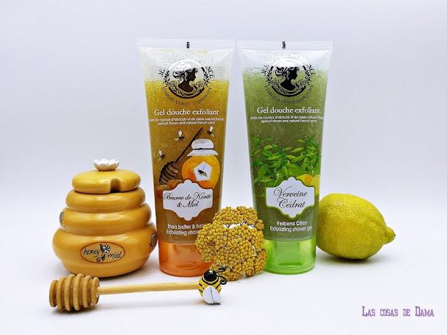 Sorteo Gel Exfoliante Jeanne en Provence Provenza beauty baño miel belleza cedrat cuidado corporal