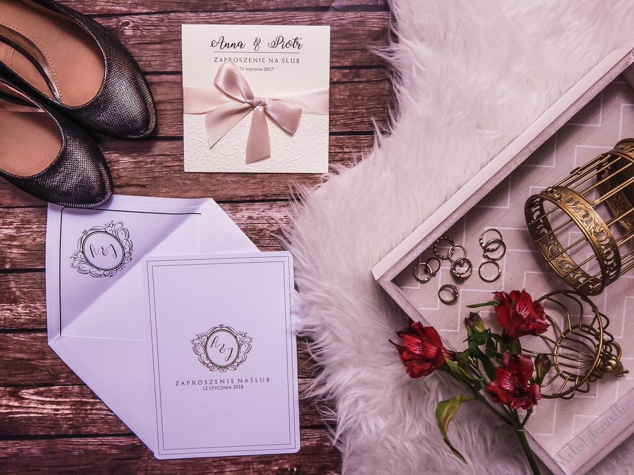 2 zaproszenia ślubne eko rustykalne bio 2018 tanio tekst vintage boho eleganckie gdzie kupić zamówić jak zaprojektować