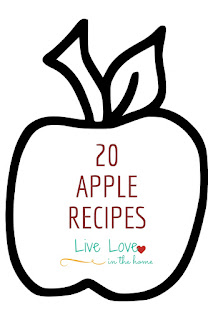 A Collection of 20 Apple Recipes by Live Love in the Home