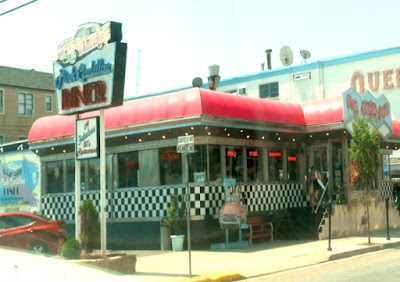 Pink Cadillac Diner in Wildwood New Jersey