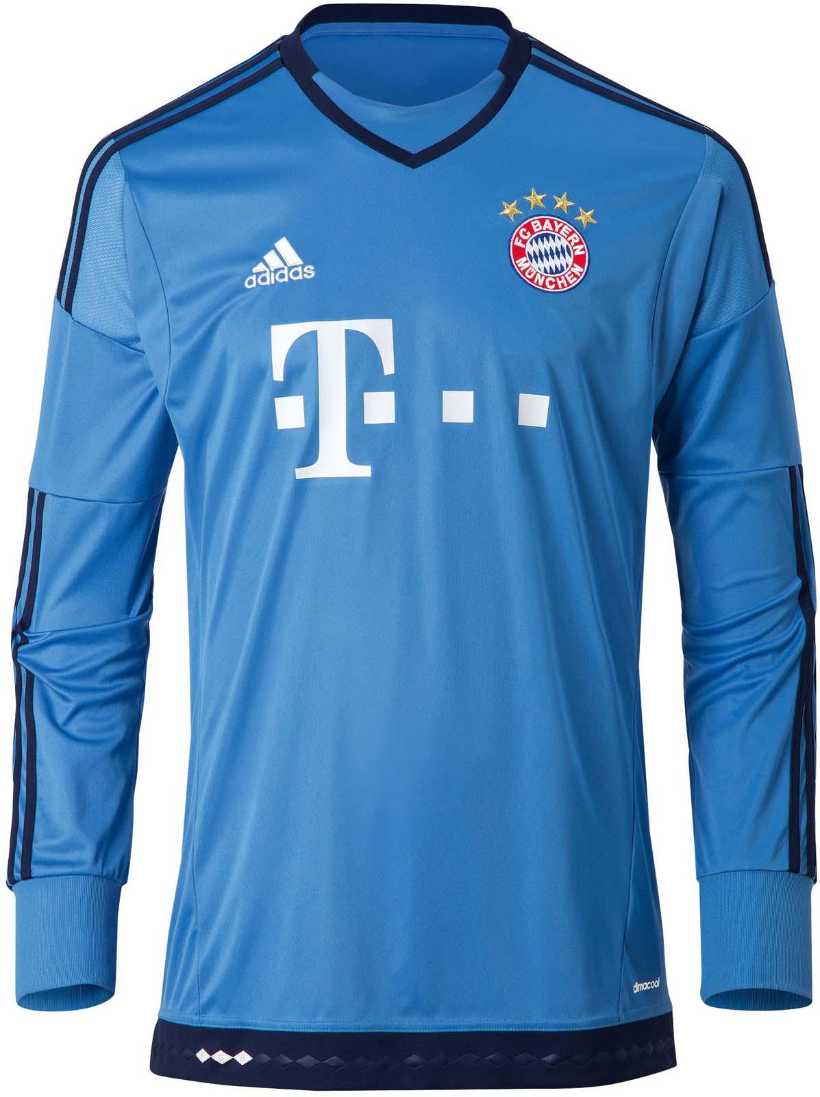FC Bayern München 15-16 Kits Released
