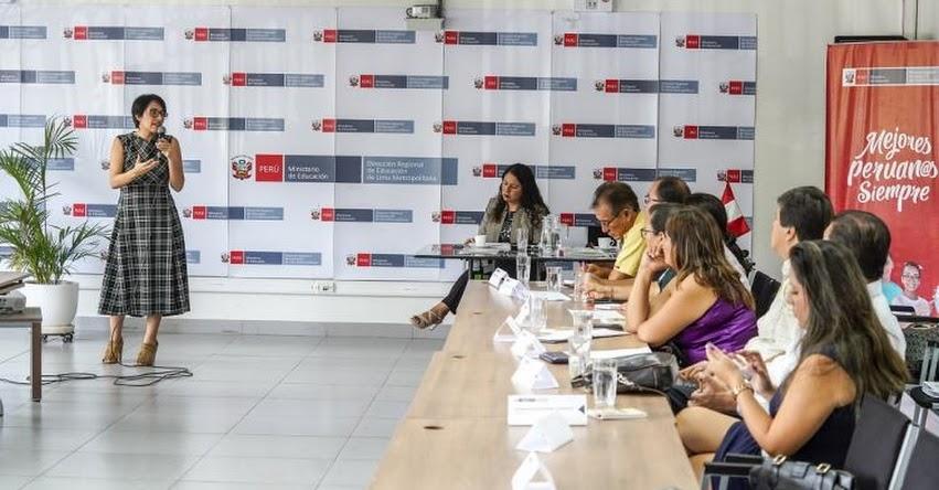PRONIED, DRELM y las UGEL se reunieron con funcionarios de infraestructura y educación de 33 municipalidades de Lima Metropolitana - www.pronied.gob.pe