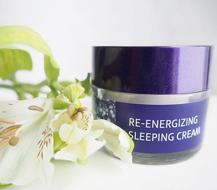 Lavera Re-energizing Sleeping Cream yövoide