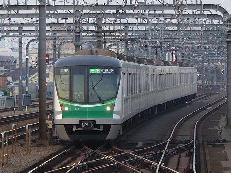 小田急電鉄 準急 本厚木行き2 東京メトロ16000系(平日夜間運行)