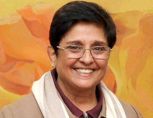 Kiran Bedi sworn  in as Lieutenant Governor of Pudhuchery