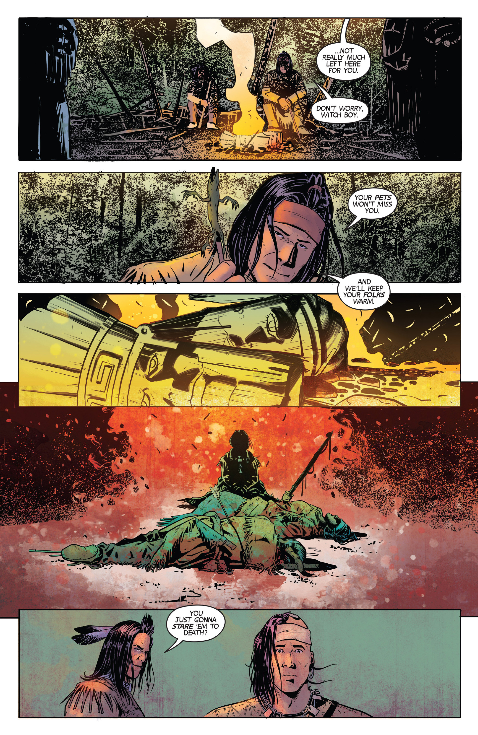 Read online Turok: Dinosaur Hunter (2014) comic -  Issue #1 - 15