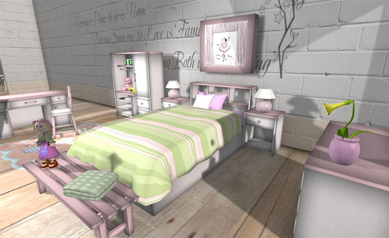 7 Inspiring Kid Room Color Options For Your Little Ones: Girly Bedroom Design Ideas