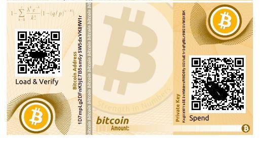 paper wallet bitcoin