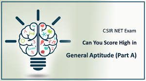 CSIR-NET GENERAL APTITUDE SAMPLE THEORY BY VPM CLASSES