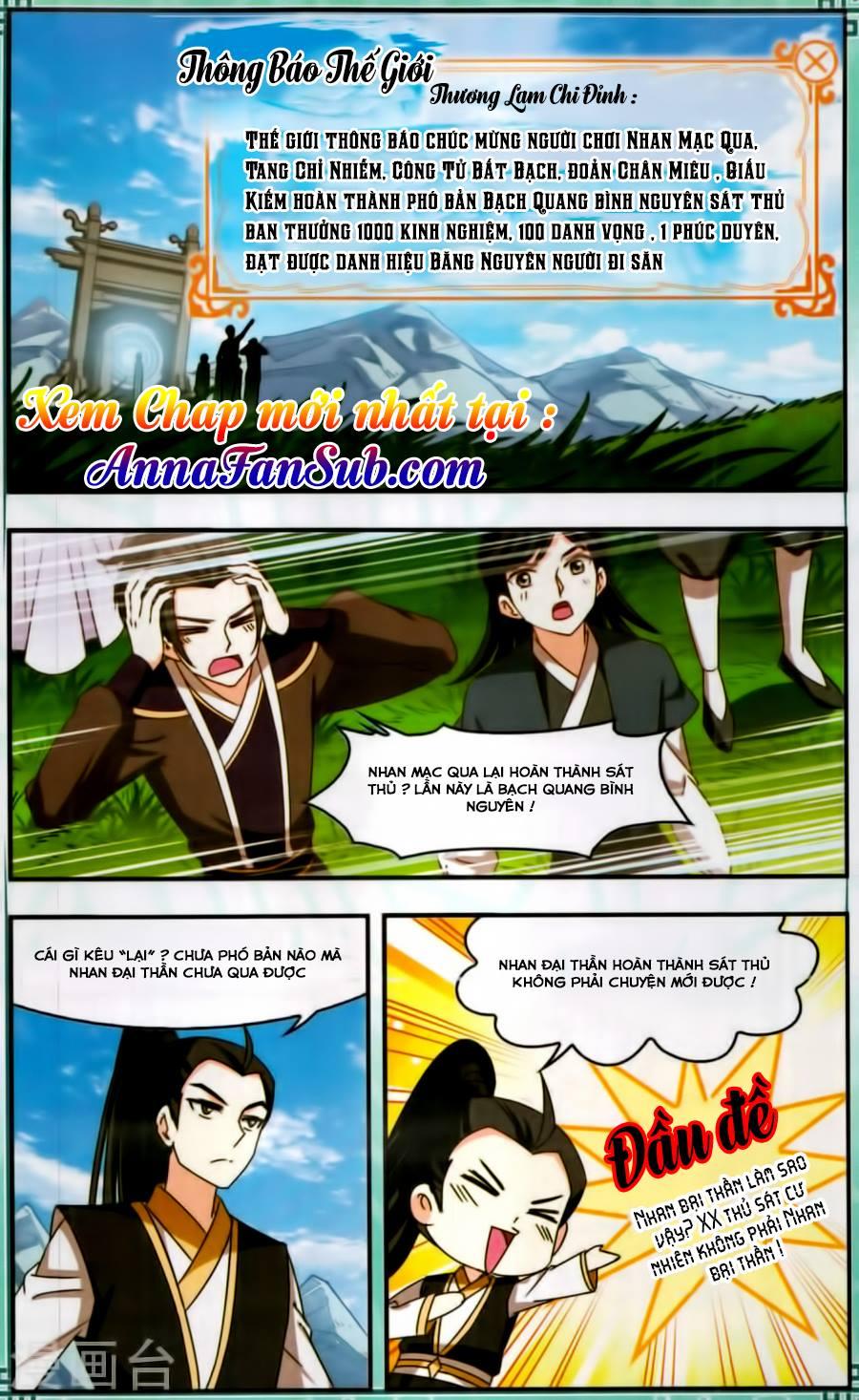 Phong Khởi Thương Lam Ngoại Truyện Chap 12