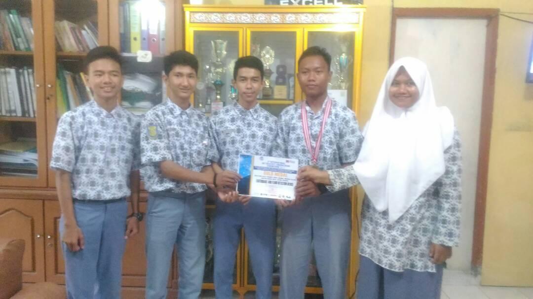 Sma 12 Banda Aceh Raih Medali Emas Di 3 Rd International Art Creativity Engineering Exhibition 2017 Bidik Indonesia