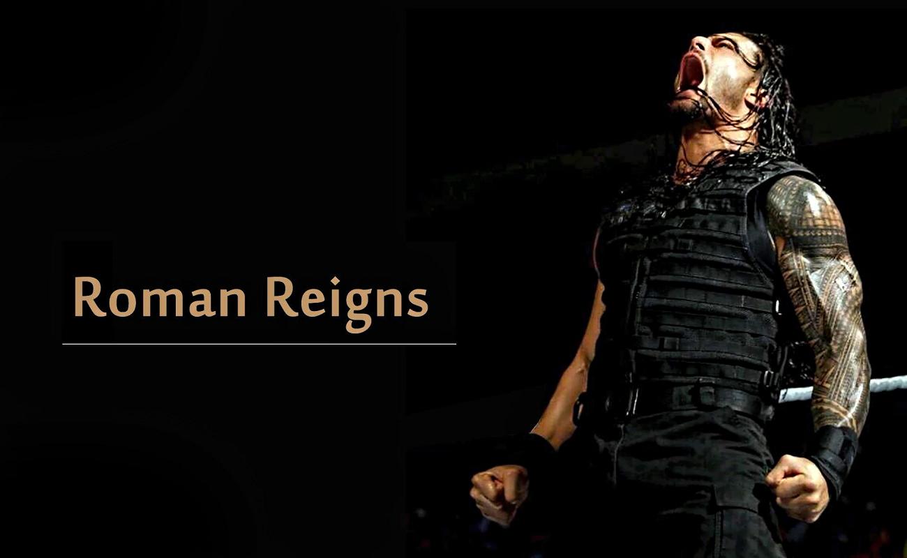 Hd Roman Reigns Wallpaper: Roar Of Roman Reigns HD Wallpaper