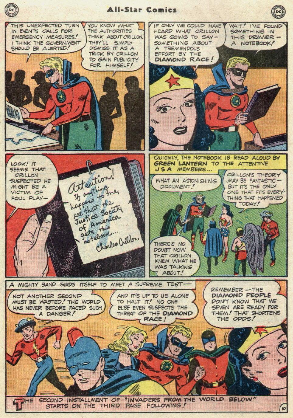 Read online All-Star Comics comic -  Issue #51 - 12