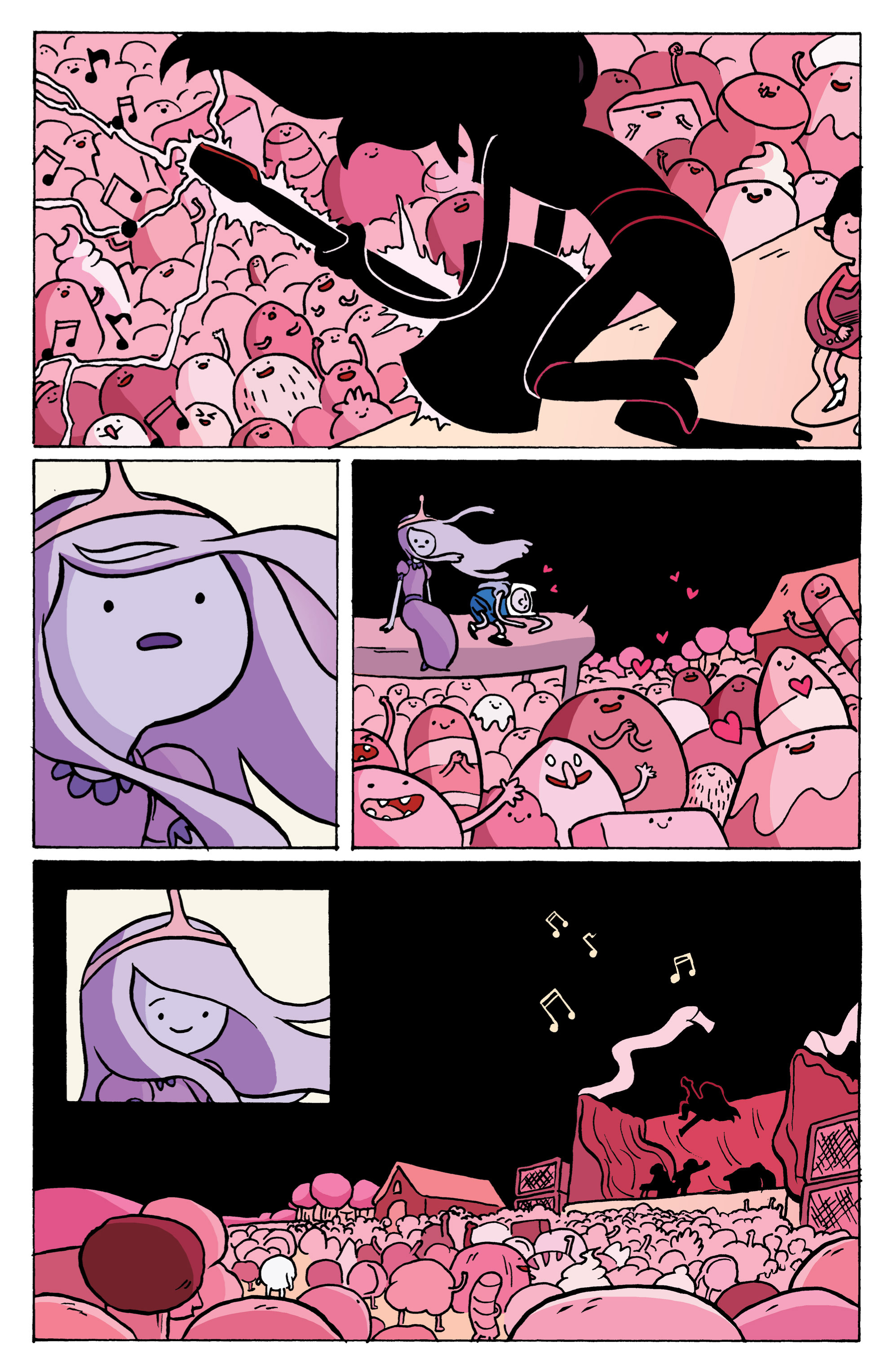 Read online Adventure Time: Marceline and the Scream Queens comic -  Issue #1 - 16