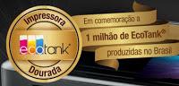 Promoção Epson 2016 Impressora Dourada