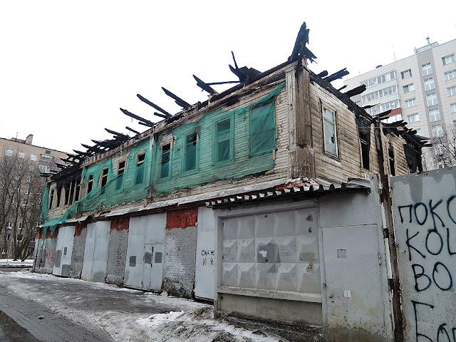 Пожарная часть в Преображенском. Конец 2016 года