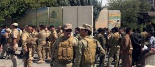 القضاء علي مهاجمين مبنى محافظة اربيل