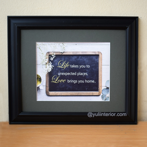 Life, Quotes, Wall Frames, Framed Print in Port Harcourt, Nigeria