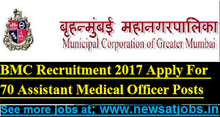 BMC-70-Assistant-Medical-Officer-Posts-Recruitment