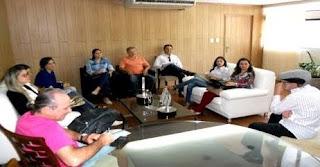 Reunião discute ampliação de estágio para alunos de Nutrição do CES/UFCG