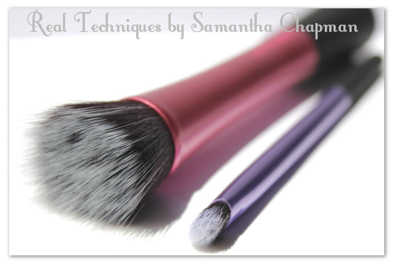 Stippling Brush and Shading Brush,  Real Techniques by Samantha Chapman
