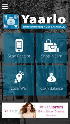 Ein einfaches App für Cash Back