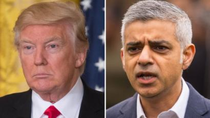 Trump renews feud with London mayor over terror attack