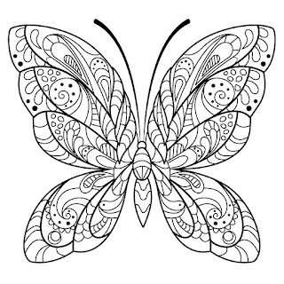 Butterfly Coloring Pages Forumswindowscentral Eltoken3Cg6TTlY