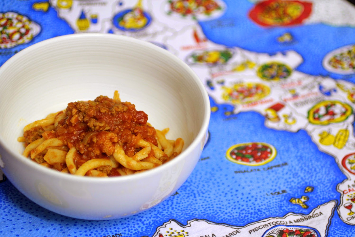 Nonna Floriana's Ragu - This recipe for ragu comes all the way from an Italian kitchen in the Emilio-Romagnia region.  Using only a few simple ingredients it is rich, filling and surprisingly easy!