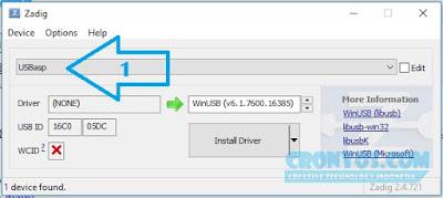 Cara Paling Mudah Install Driver USBASP di Windows 7, 8 dan 10