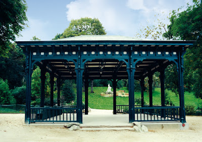 Photo du kiosque du parc Montsouris