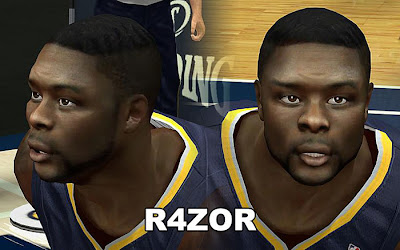 NBA 2K13 Lance Stephenson Cyberface Patch Mods