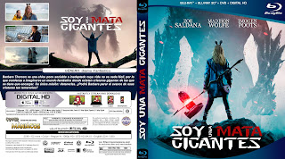 SOY UNA MATA GIGANTES - I KILL GIANTS - 2017