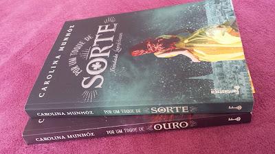 Por um toque de sorte, Por um toque de ouro, Carolina Munhóz, Editora Rocco, Trilogia Trindade Leprechaun