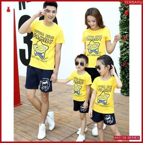 AKC106K201 Kaos Couple Anak 106K201 Keluarga BMGShop