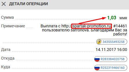 Заработок на кликах - spartak-promotion