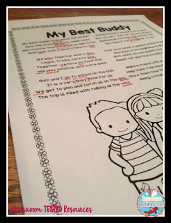 Are your kids fluent readers? If the answer is some, then this post is for you. Creating poetry notebooks for repeated reading is a great strategy for improving fluency. Check out this post for more. Freebie included.