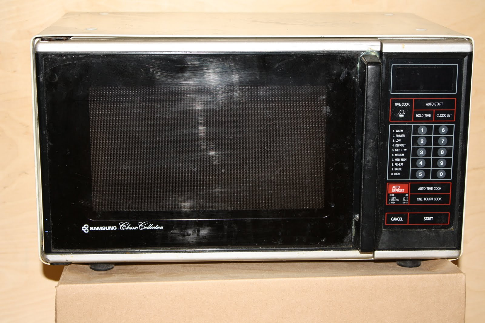 I C Church Auction 2011 Samsung Microwave
