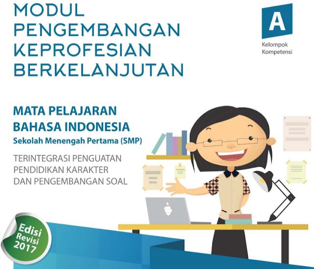 Modul PKB Bahasa Indonesia SMP Revisi 2017
