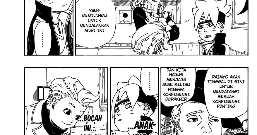 Boruto Chapter 45 Sub Indonesia Komiku