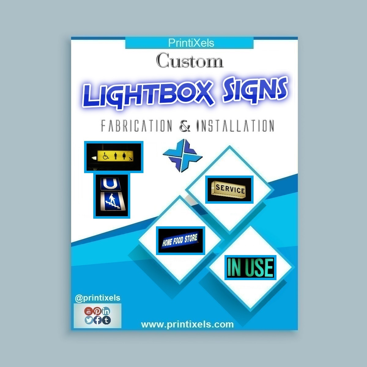 Custom Lightbox Signs