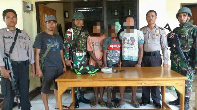 Lagi, Satgas Pamtas RI-PNG Berhasil Amankan 25 Gram Ganja