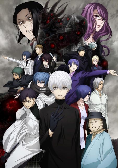 "segunda temporada de ""Tokyo Ghoul:re"